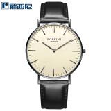 罗西尼(ROSSINI)手表 雅尊商务系列超薄简约两针皮带石英钟表男表517769B06D 498元