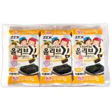 ZEK 橄榄油烤海苔 4g*3包 *17件 100.6元(合 5.92元/件)