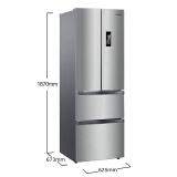¥2779 Midea 美的 BCD-318WTPZM(E) 多门冰箱 318升