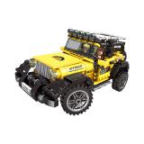 星堡积木03024越野卡车大脚怪拼装积木超级汽车男孩儿童益智玩具 03024+凑单品 35元