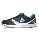 匹克女夜跑运动鞋 轻逸跑鞋DH540268 黑色/水瓶蓝 35码 59元