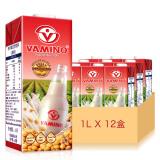 泰国进口 哇米诺豆奶饮料 原味豆奶1L*12 家庭分享 整箱装 营养早餐 *2件 158.4元(合 79.2元/件)