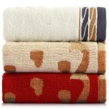 三利 棉竹毛巾 100g*3条 颜色花型随机 9.9元(需领券)