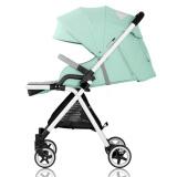 爱贝丽(Ibelieve)婴儿推车京东自营婴儿车儿童童车超轻便高景观可坐可躺手推车 0-3岁宝宝婴儿车3代 玲珑绿 649元