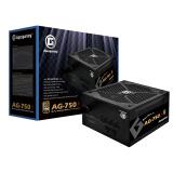 艾湃电竞(Apexgaming)AG-750S 额定750W 半模组金牌 台式机电源 569元
