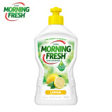 morning fresh 澳洲进口洗洁精 400ml 清新柠檬味 超浓缩不伤手 高效去油 果蔬奶瓶洗涤灵清洗剂 *14件 100.6元(需用券,合7.19元/件)