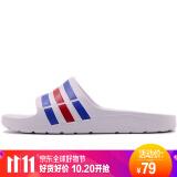 adidas 阿迪达斯 DURAMO SLIDE U43664 中性运动拖鞋 79元
