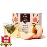 茶里 ChaLi 茶叶 蜜桃乌龙袋泡茶水果茶果粒茶白桃乌龙茶包冷泡茶15包 24.47元