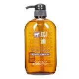 KUMANOYUSHI 熊野油脂 无硅油马油洗发水 600ml *3件 89.91元(合29.97元/件)