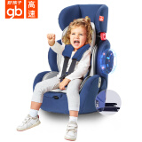历史低价、双重优惠:gb 好孩子 汽车安全座椅 CS786-A007 9个月-12岁 成长型 水手蓝(需用 券) 999元