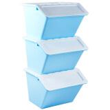 BELO 百露 塑料收纳箱 3个装 *3件 181.9元(合 60.63元/件)