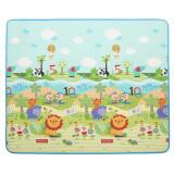 费雪FisherPrice婴儿韩国进口加厚双面宝宝爬行垫 游戏垫BMF22 (180*200*1cm) 179元