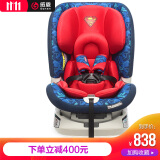 感恩普罗米儿童安全座椅 婴儿宝宝汽车儿童安全座椅 isofix 0-6岁 超人 738元