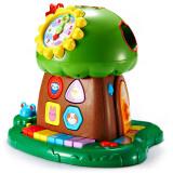 澳贝(AUBY)玩具趣味小树婴幼声光积木珠算早教电子琴智慧树 463425DS 46.5元
