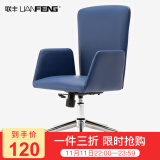 联丰(LIANFENG) DS-173A 电脑椅 白色 120元