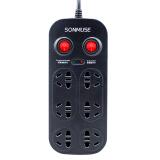 声缪斯(SONMUSE) 防雷6位双排双控插排 插座 全长3米 券后 39元 包邮
