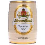 限地区:Lowenfurst 捷狮 小麦白啤酒 5L桶装 69元
