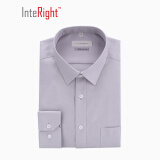 秋季焕新: INTERIGHT 100支棉 男士长袖衬衫 *2件 +凑单品 96.8元(需用券,合48.4元/件)
