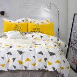 南极人(NanJiren)被套家纺 全棉斜纹印花被套 双人床被罩 单件 北欧 200*230cm 71.1元