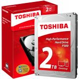 TOSHIBA 东芝 P300系列 7200转 64M SATA3 台式机硬盘 2TB 369元包邮