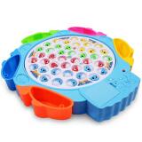 爸爸妈妈 钓鱼玩具 儿童电动旋转益智玩具 大号42个带音乐钓鱼池 29元 29.00