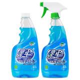 绿伞玻璃净亮水500g*2瓶 家用车窗玻璃清洁液 *2件 26.9元(合13.45元/件)