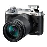 Canon 佳能 EOS M6(EF-M 18-150mm f/ 3.5-6.3)无反相机套机 银色/灰色 4849元(需用 券)