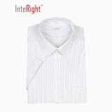 INTERIGHT 机洗 免熨烫 男士短袖衬衫 *2件 +凑单品 96.8元(需用券,合48.4元/件)