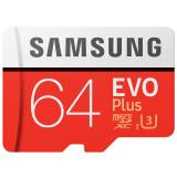 SAMSUNG 三星 EVO Plus MicroSD存储卡 64GB 78.9元