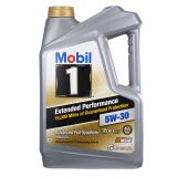 20点开始:Mobil 美孚 金装1号 EP长效 5W-30 全合成机油 5Qt*2+1Qt*3 +凑单品 408.01元(合31.39元/升)