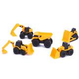 京东PLUS会员: CAT 卡特彼勒 34601 迷你工程车系列 五合一套装版 *4件 +凑单品 133元包邮(213-80)