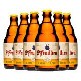 St-Feuillien 圣佛洋 金啤酒 330ml*6瓶 *2件 *3件 206.8元包邮(双重优惠)