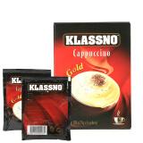马来西亚进口 卡司诺(Klassno)即溶咖啡金装(固体饮料)150g *10件 99元(合 9.9元/件)