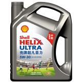 壳牌(Shell) Helix Ultra 超凡喜力全合成机油 中超限量版 5W-30 SL级 4L 248元