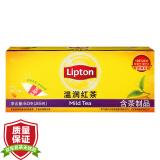 立顿(Lipton) 茶叶 红茶 温润红茶 50g 10.2元