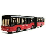 siku仕高德国品牌玩具汽车模型仿真公交车玩具巴士客车合金车模型-铰接式公共汽车SKUC1617 *5件 150元(合 30元/件)