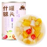 熊九九 糖水什锦水果罐头 方便速食 休闲零食 425g *16件 100元(合 6.25元/件)