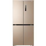 ¥3479 Midea 美的 BCD-468WTPM(E) 468升 十字对开门冰箱