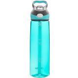 contigo 单层运动吸管杯夏季户外运动塑料水杯750ML 天蓝色HBC-ADN027 *5件 345元(合69元/件)