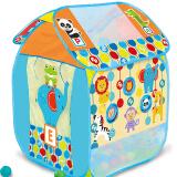 费雪(Fisher-Price) 帐篷垫 儿童游戏屋 海洋球池 送50海洋球 99元