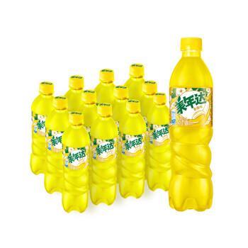 京东商城:限地区:美年达 Mirinda 香蕉味 汽水碳酸饮料 500ml*12瓶20.9元