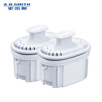 史密斯(A.O.SMITH)家用净水壶 滤水壶滤芯  聚丙烯酸树脂活性炭复合滤芯2枚装