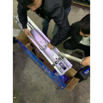 手动瓷砖切割机推刀800 1000地砖墙砖玻化砖切割 诺贝尔推刀1000标配 纸盒包装