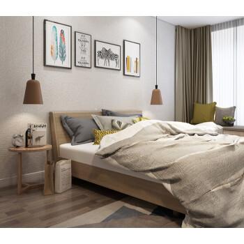 欧雅蚕丝墙布无缝全屋灰色卧室素色壁布现代简约客厅电视背景 灰JBB0532