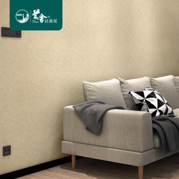 兰舍硅藻泥墙面涂料超值全房内墙艺术涂料代替乳胶墙面漆易打理调节湿度净化甲醛家用环保壁材防霉防潮易打理 包工包料