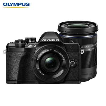 奥林巴斯(OLYMPUS)E-M10 MarkIII EM10三代 微单相机 数码相机 微单套机(14-42mm & 40-150mm)超值双镜头