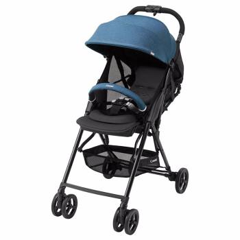 【日本直邮】Combi/康贝 轻便折叠婴儿车 可坐可躺婴儿车儿童宝宝手推车  age AK 117556 蓝色