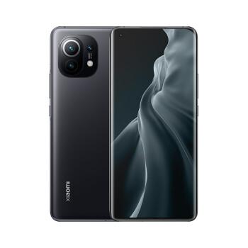 小米11 5G 骁龙888 2K AMOLED四曲面柔性屏 1亿像素 55W有线闪充 50W无线闪充 8GB+128GB 黑色 游戏手机