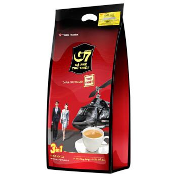神价格!越南本土版、5斤! G7 中原咖啡 三合一速溶咖啡 16gx100条x2件 +16gx50条 +凑单品