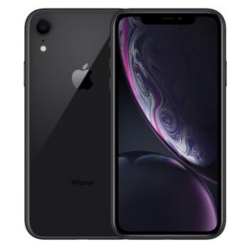 <b>Apple iPhone XR (A2108) 128GB 黑色 移动联通电信4G手机 双卡双待</b>